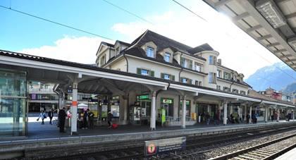 Geschäfte im Bahnhof Interlaken West eröffnen früher als geplant – 03.12.2018 – BLS AG