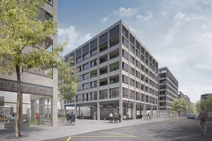 Wohnen, Arbeiten und Einkaufen am Bahnhof Bümpliz Nord  – 19.09.2018 – BLS AG