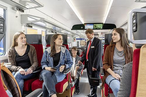 Die Südostbahn schafft in Bern neue Arbeitsplätze für Kundenbegleiter
