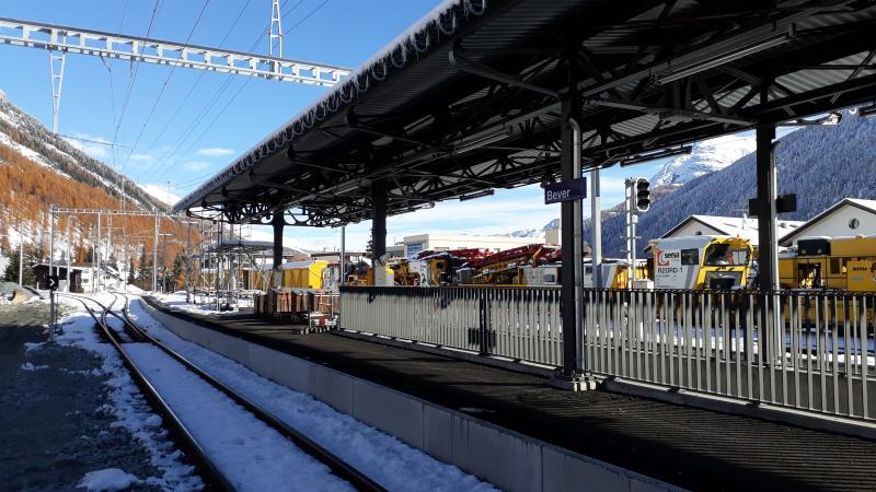 Der Bahnhof Bever wird kundenfreundlicher