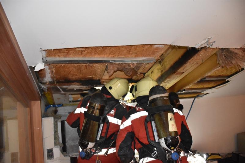 Ruschein und Vals: Feuerwehreinsatz wegen Mottbrand
